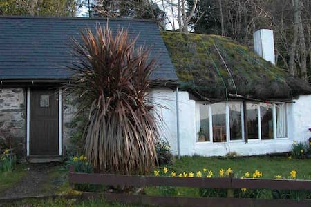 Thatch cottage, Craig Highland Farm, Plockton 3 ml - Plockton