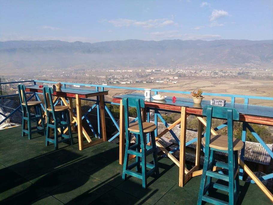 餐厅楼顶观景公共平台