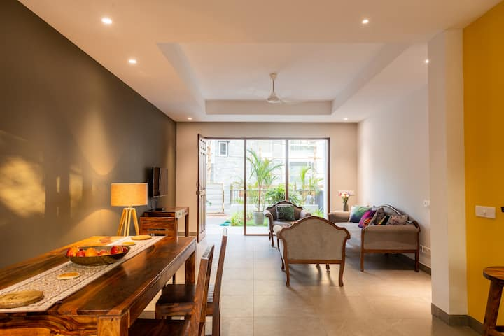 Villa Mandovi 3 BHK Premium Villa- Pool & Parking