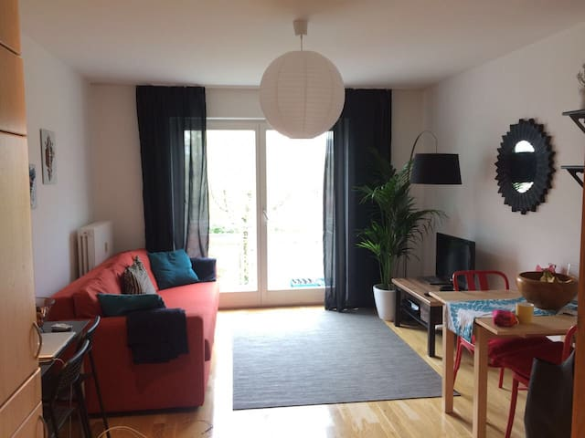 Spacious private room in apartment