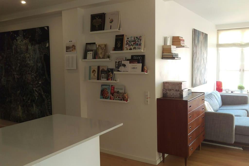 Living room/hall way
