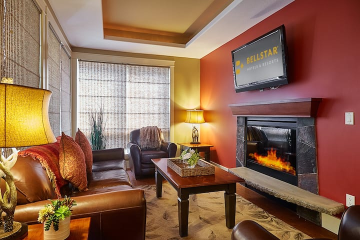 2-bedroom suite with a gourmet kitchen | No Service Fee