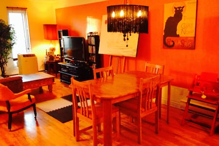 2 BDR open space condo in the heart of the Plateau - Montréal - Apartment
