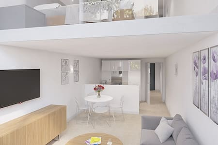 Stunning Mezzanine Apartment in a Great Location!!