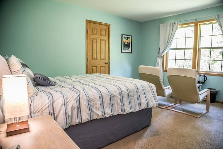 """The """"North Shore Nest"""" bedroom"""