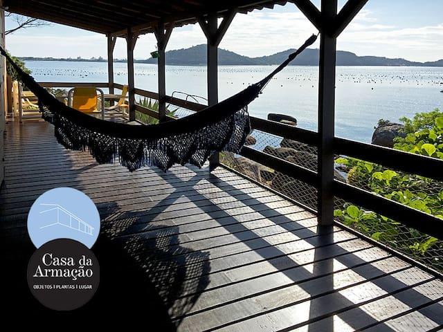 Casa da Armação - varanda inesquecível sobre o mar
