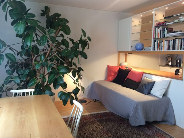 Beautiful 2-room Vallila apartment with park views