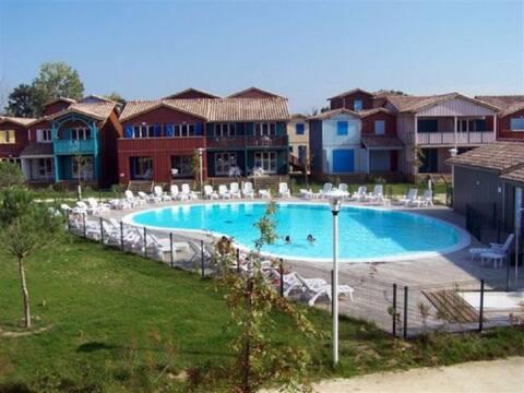 Vacances en famille - Appartement avec piscine
