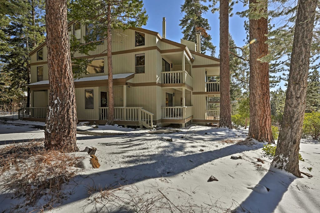 The condo is located in the Kingswood Village Condo Association  and comfortably sleeps 4 guests.
