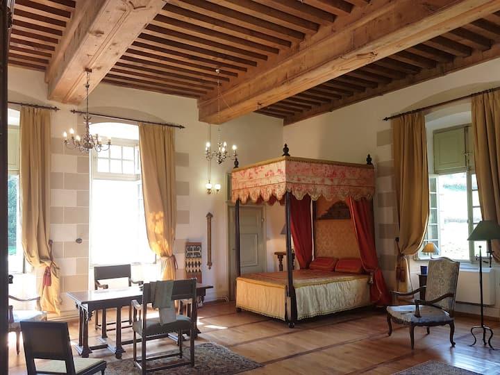 Chambre des Chevaliers - Château du 17eme