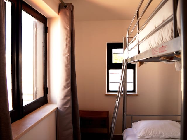 Twin Room with Bunk Bed and Shared WC GHT3