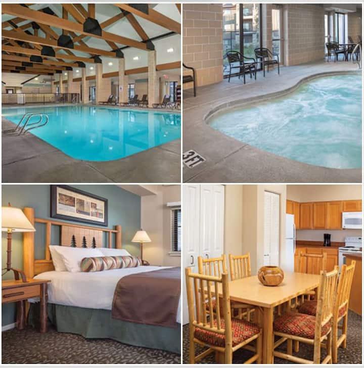 West Yellowstone 2 Bdrm Twin Condo Resort