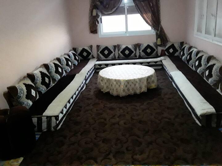 Appartement 1er étage dans maison individuelle