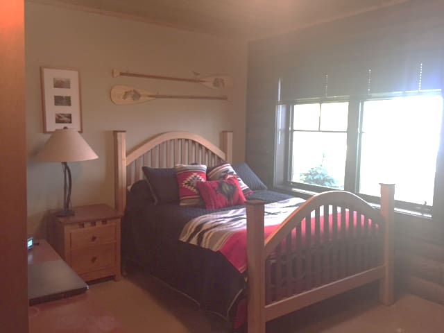 Bedroom #3 with a double bed