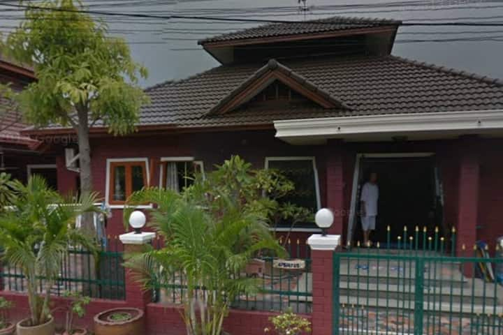 Thai style decoration house in  privacy community