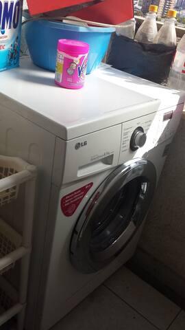 Se puede utilizar la lavadora