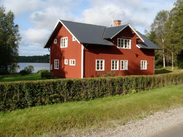 Secluded lakeside villa - Ludvika N