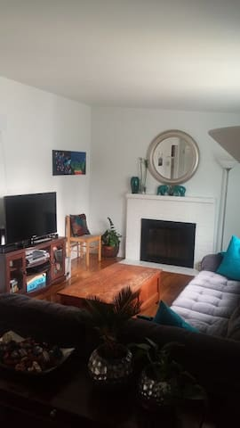 Superbowl Duplex 15 min. from Levi! - Redwood City - Apartment