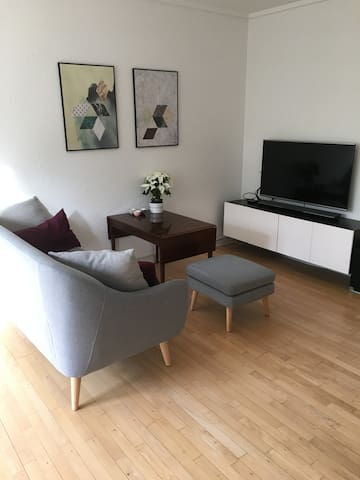Spacious home 10 min. train ride from Central Cph!