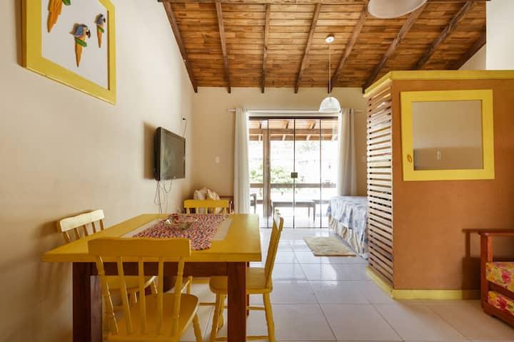 Bech front Apartment at Gamboa Garopaba 2