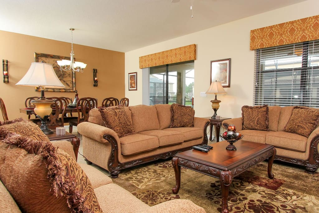 Enjoy your time with you family in this spacious living room
