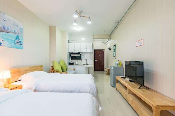 伟杰海景公寓7第三海水浴场万平口海洋公园大学城万达广场东夷小镇