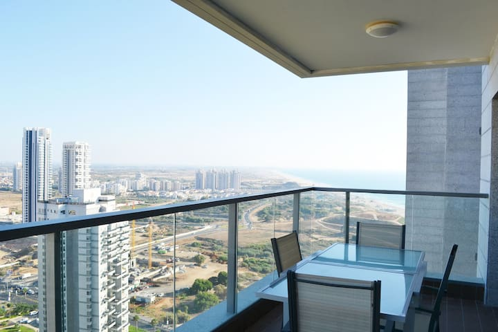 Brand New Apt - Parking - Sea View - 3 bdr #B2