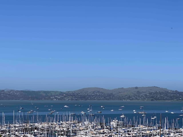 Ocean view room in the heart of Sausalito