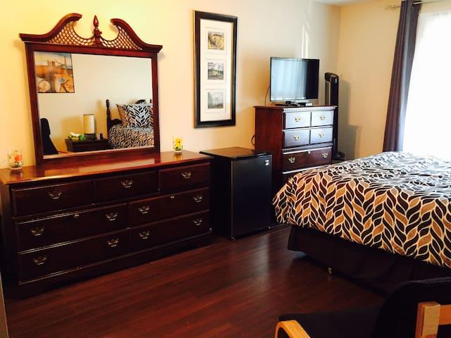 Spacious, Comfortable, Executive Bedroom