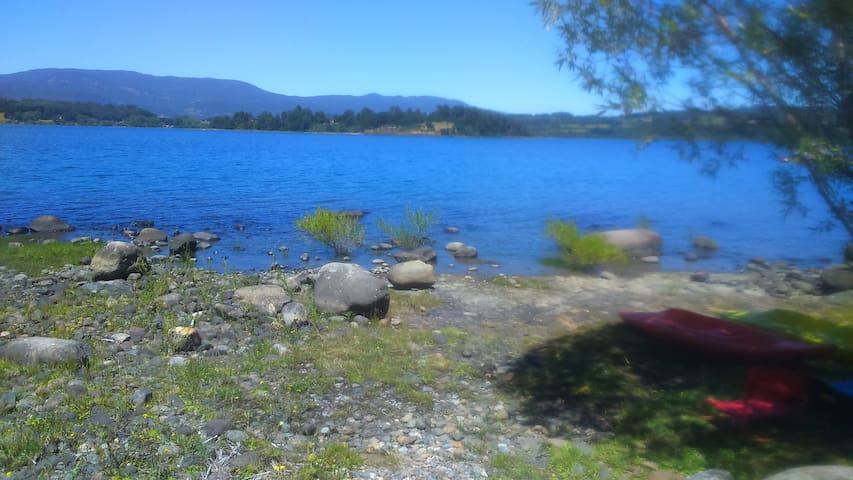 Arriendo cabaña orilla lago Panguipulli - Panguipulli - Doğa içinde pansiyon