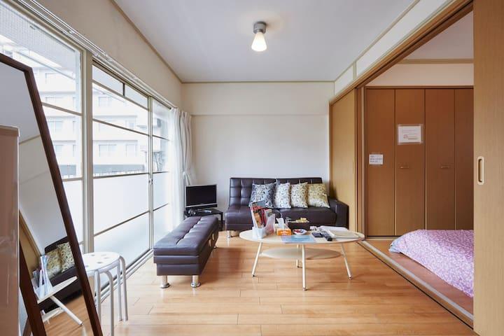 6BedRoom3Bath/COZYTOKYOBASE/GINZA/TSUKIJI Walk - Chūō-ku - Apartment