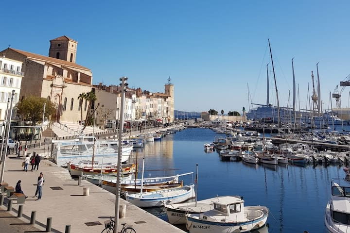 Charming studio in La Ciotat