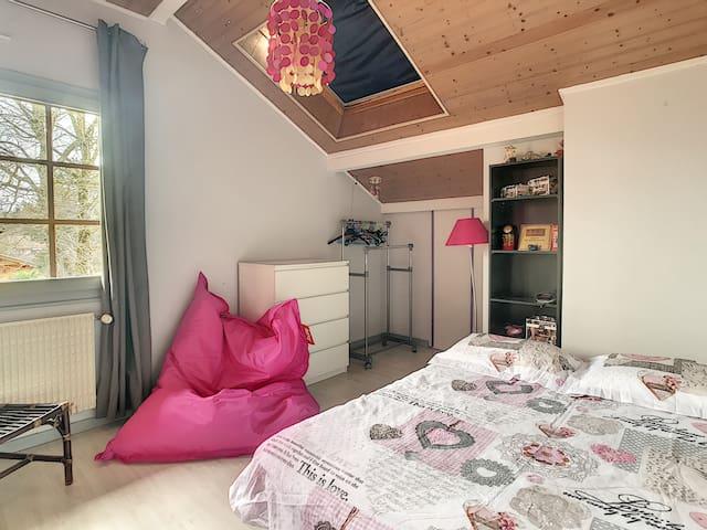 Chambre individuelle dans villa au calme