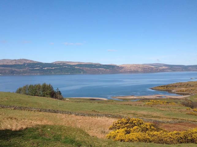 Beach within walking distance at Loch Fyne
