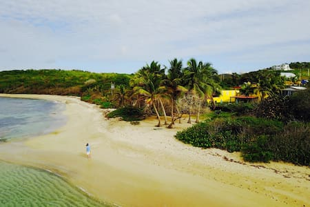 Ocean Front, beach private access, cars, biobay! - Vieques - Haus
