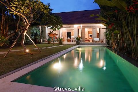 Treviso Bali Villa 2BR with lush garden and pool