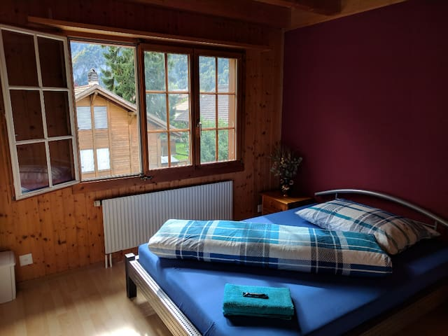Chalet Style Room Interlaken Area (Solo Traveler)