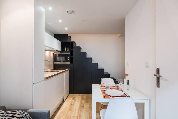 Charmant duplex rénové - Quartier de la Confluence