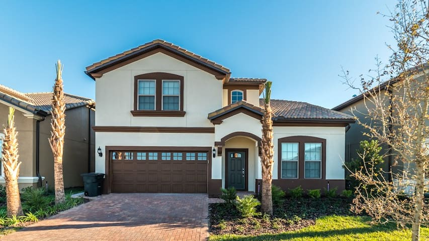 Westside Resort - 8BD/6BA Pool Home - 8WS05 - Kissimmee - Rumah