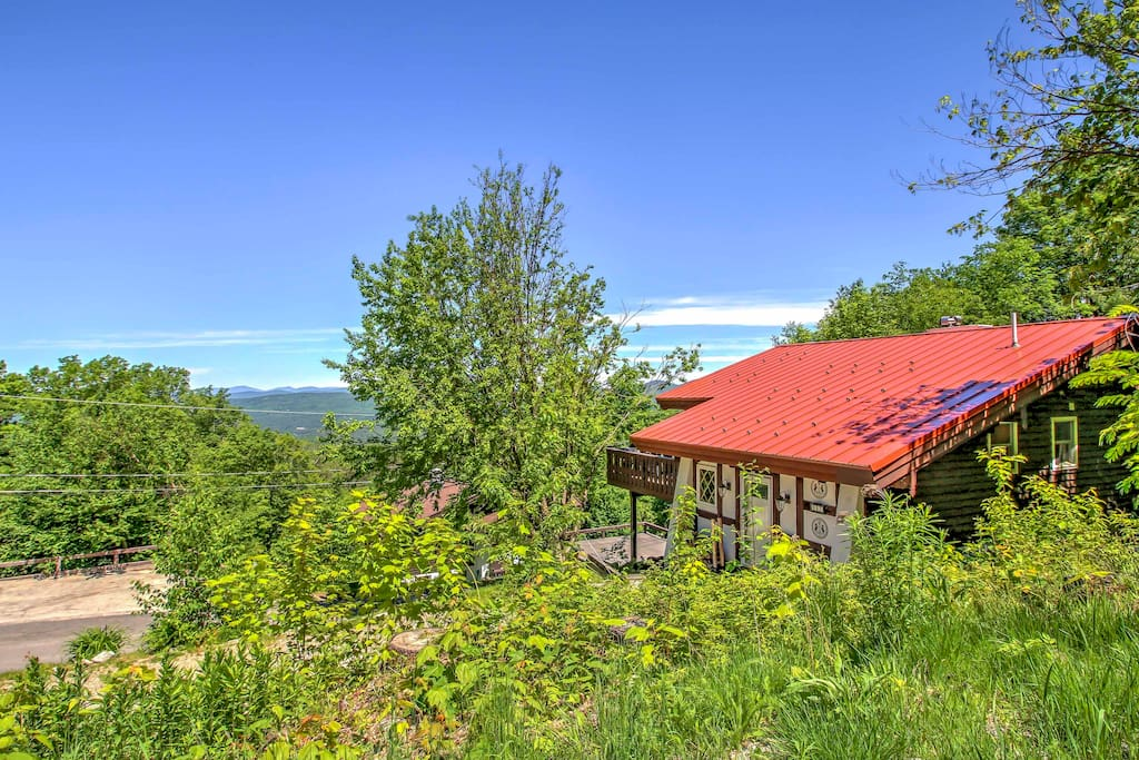 Soak in the stunning views that surround the property.