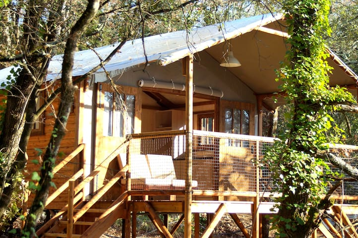 Cabane lodge à Balazuc - Ardèche (07) - Balazuc - 통나무집
