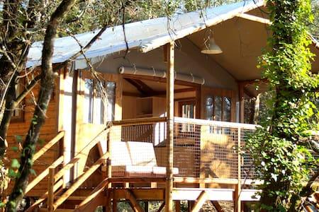 Cabane lodge à Balazuc - Ardèche (07) - Balazuc - Srub
