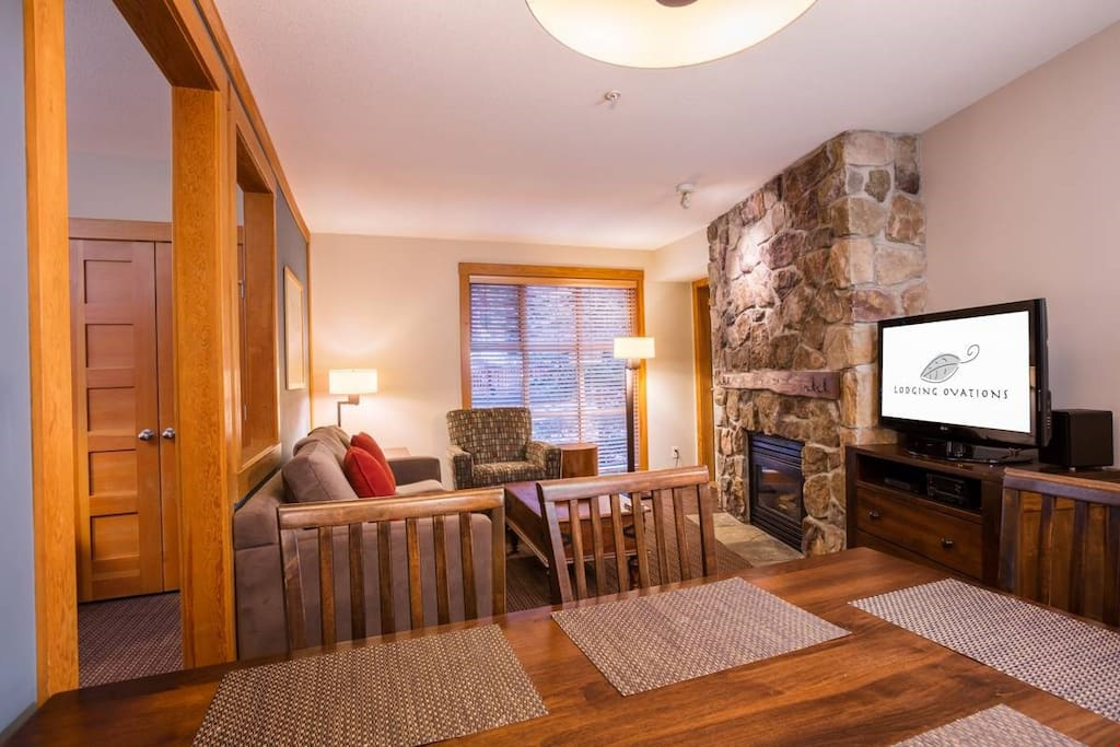 Enjoy the open-concept spacious living room.