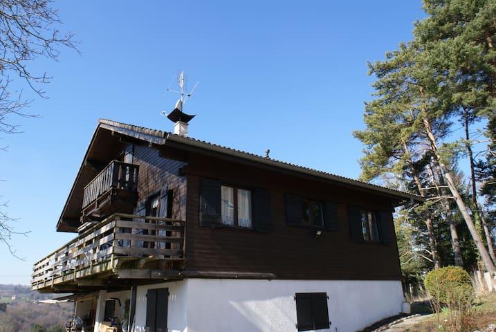 Chalet du Vernet - Gruffy - Casa