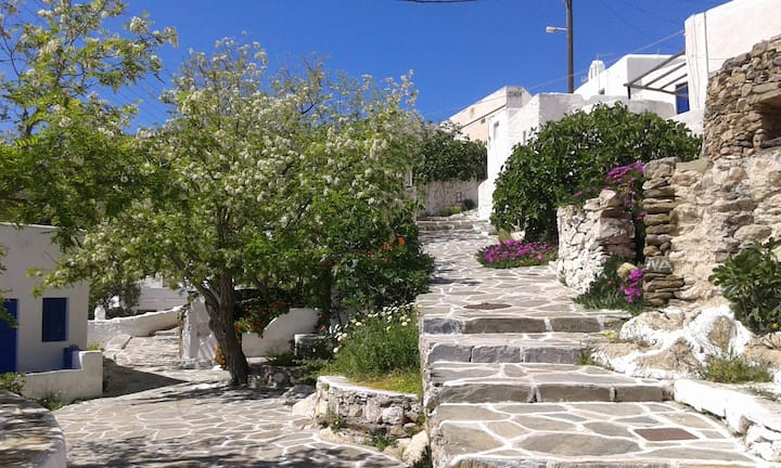 Traditional House in Sikinos (Chorio)
