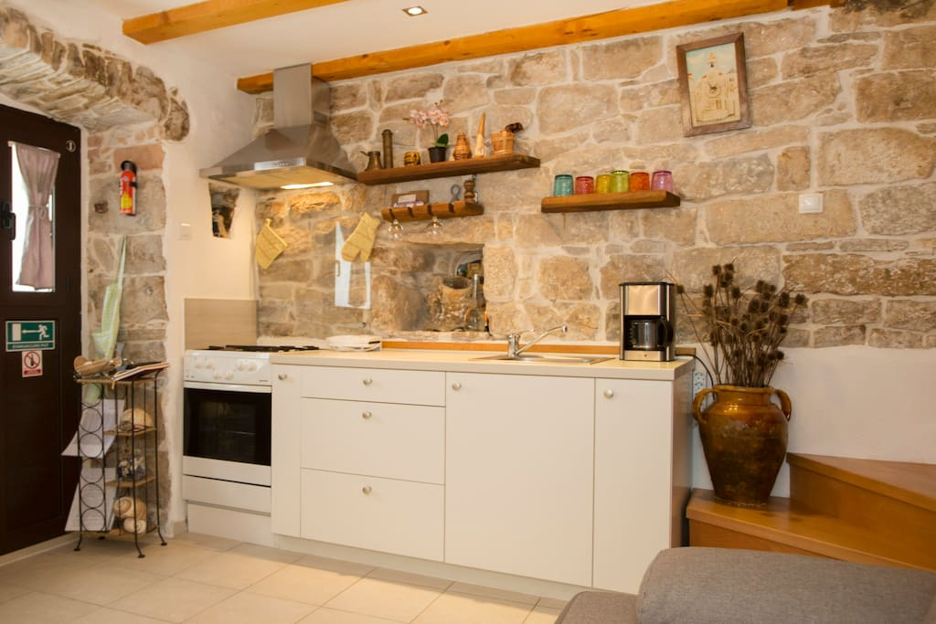A view on the kitchen