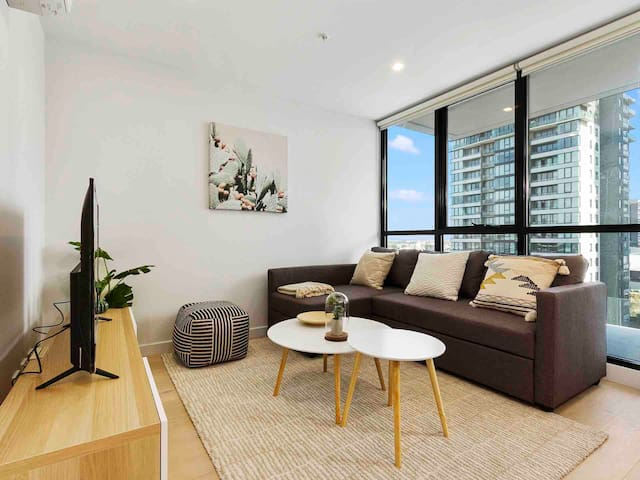 Southbank Apt Perfect for City GetawayFREE PARKING