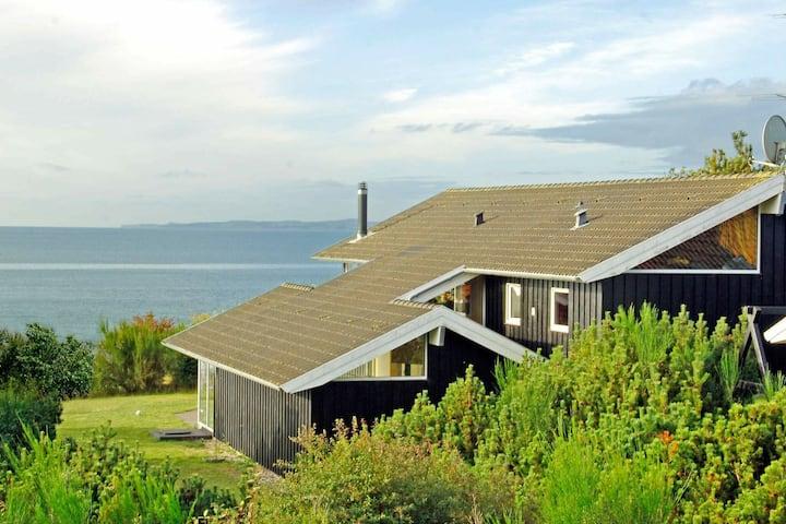 Lujosa casa de vacaciones con piscina en Ebeltoft
