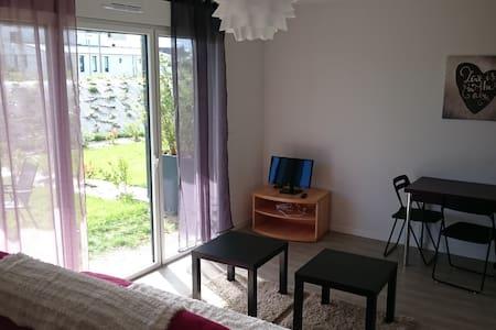 appartement à 100m de la plage des sables blancs - 孔卡尔诺 (Concarneau) - 公寓