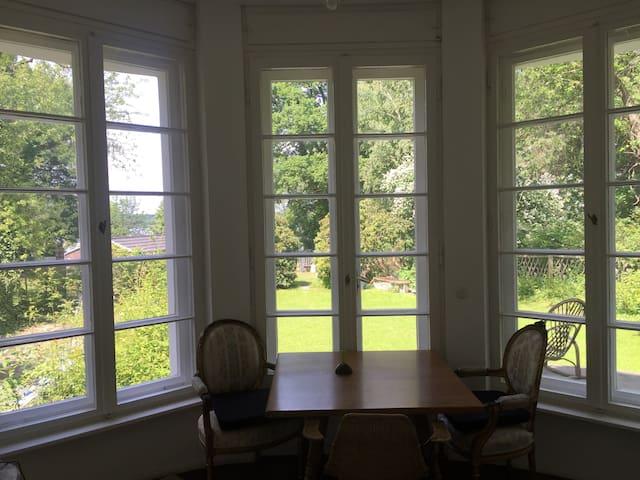 Blick aus dem Oval Office
